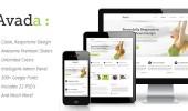 Avada简洁企业主题